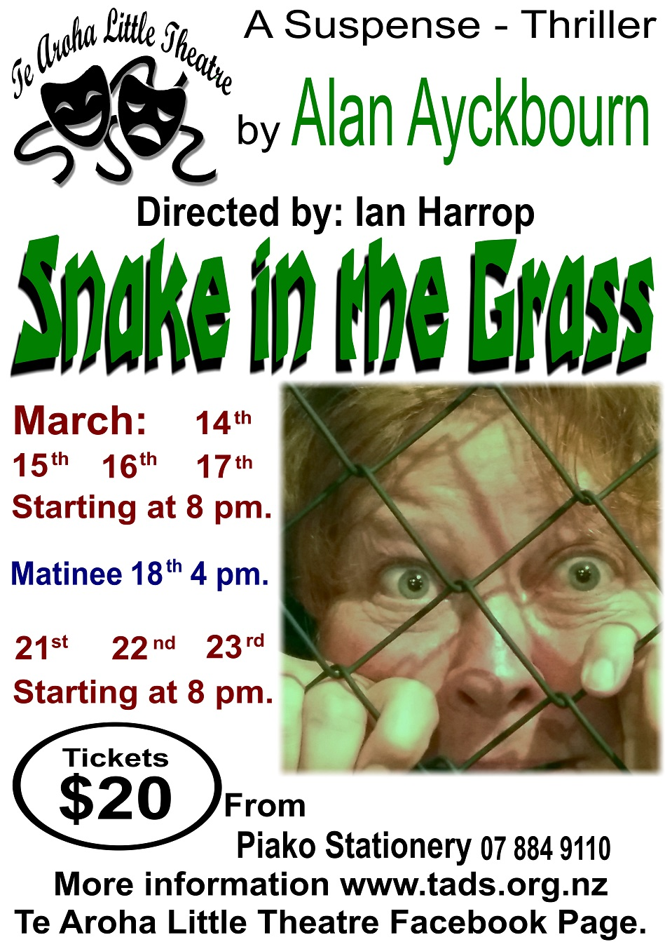 Poster 4 reduced Snake in the grass